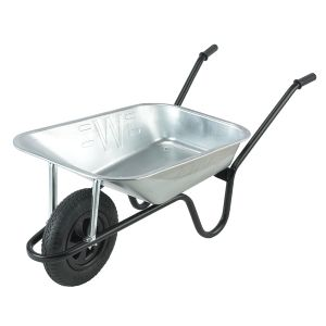 WHEELBARROW GALVANISED 85ltr WALSALL